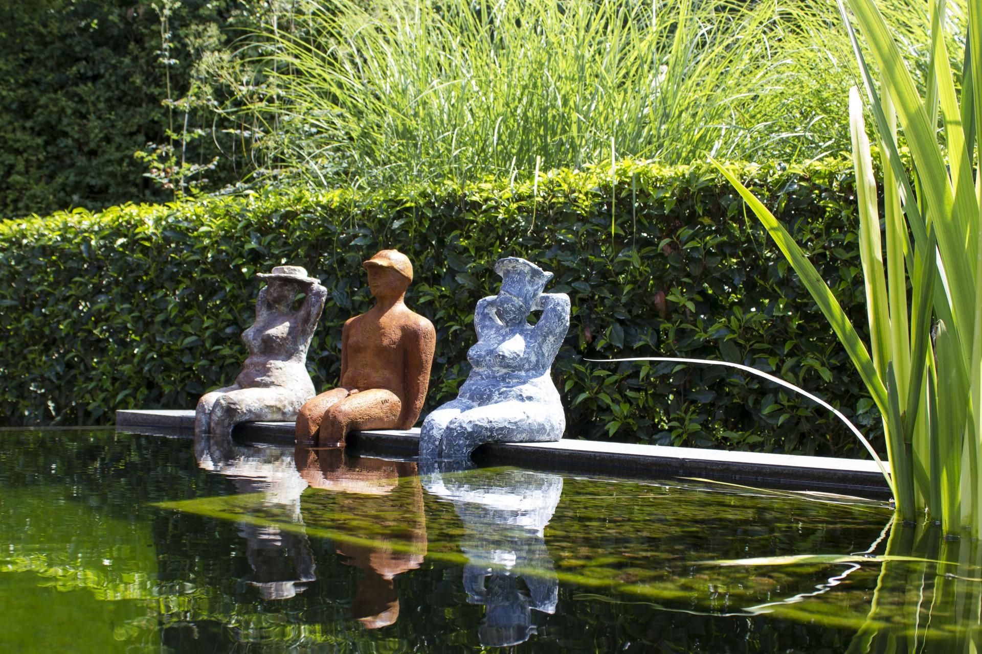 gezellig pootje baden