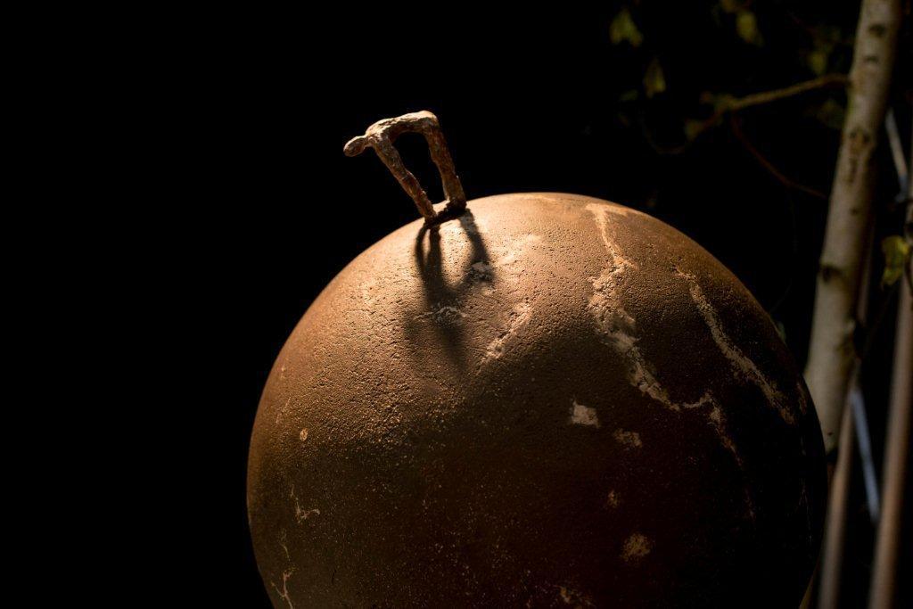 Kunst - Bronzen wereldbol